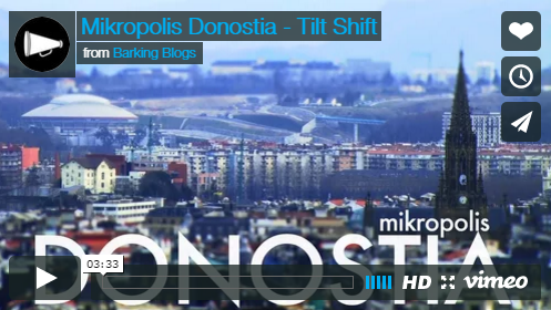 Мини видео о Сан-Себастьяне – Mikropolis Donostia