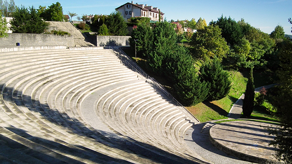Амфитеатр в парке Miramón