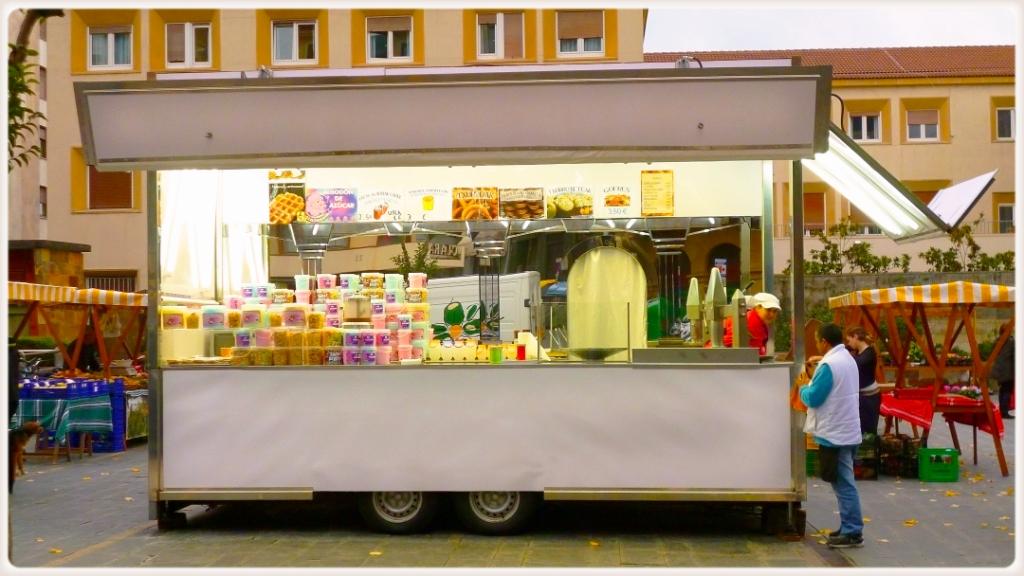 Передвижные Рынки с местными продуктами