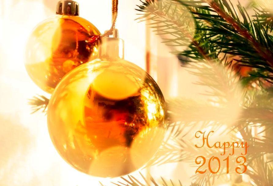 С новым годом – Feliz 2013!!!