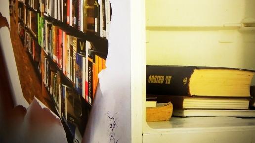 Frigoríficos… con libros…